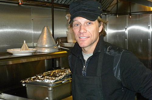 Jon Bon Jovi abre 'Soul Kitchen'