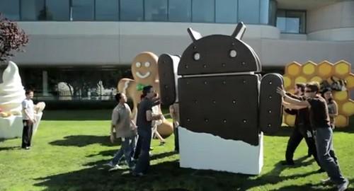 Android Ice Cream Sandwich 4.0