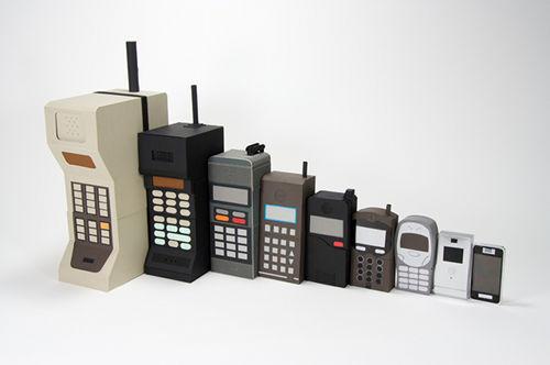 Evolucion Teléfonos