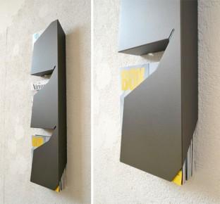estantería para revistas minimalista