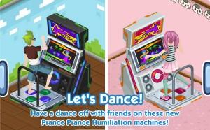 Maquina de baile planet tokio