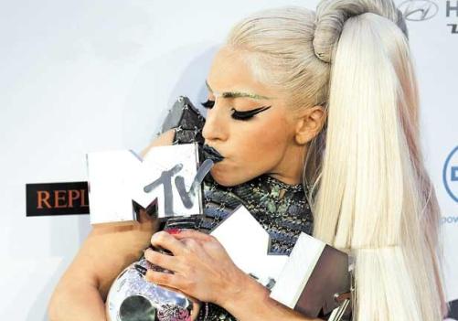 Lady Gaga, ganadora absoluta en Europa