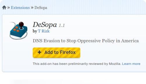 DeSOPA
