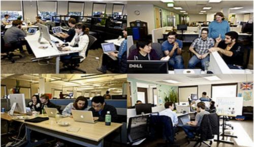 personal de Twitter en el Hack week