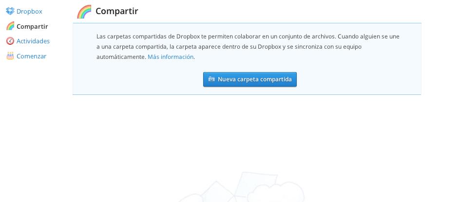 dropbox - compartir