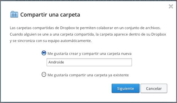 dropbox - nueva carpeta