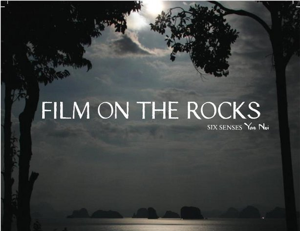 film on the rocks