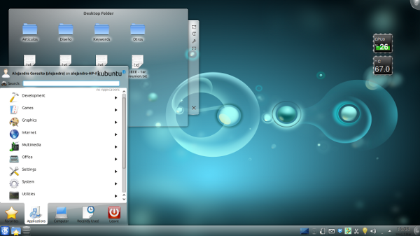 kubuntu desptop