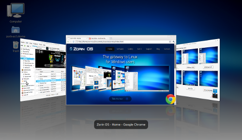 switcher - Zorin OS