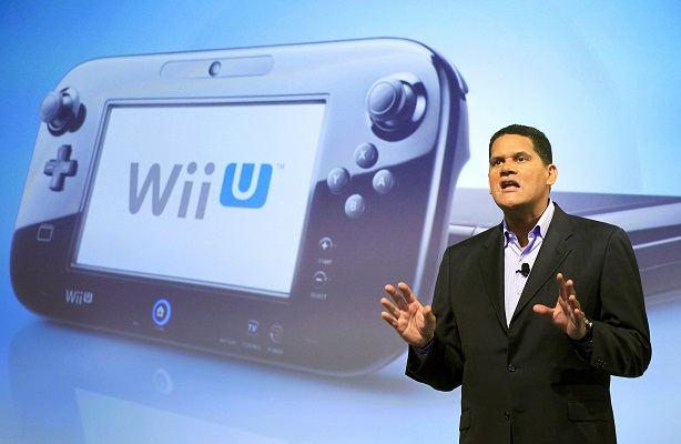 Reggie Fils-Aime - Wii U
