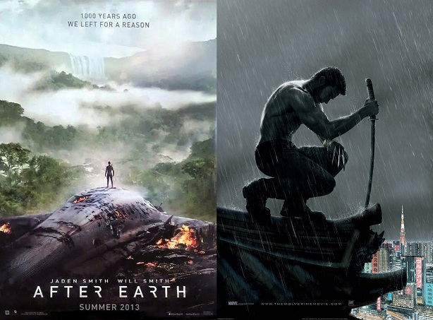 After Earth y The Wolverine