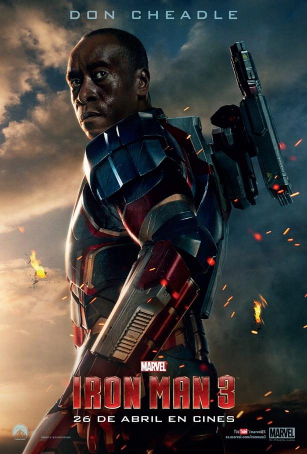 Don Cheadle-Iron Man 3-cartel