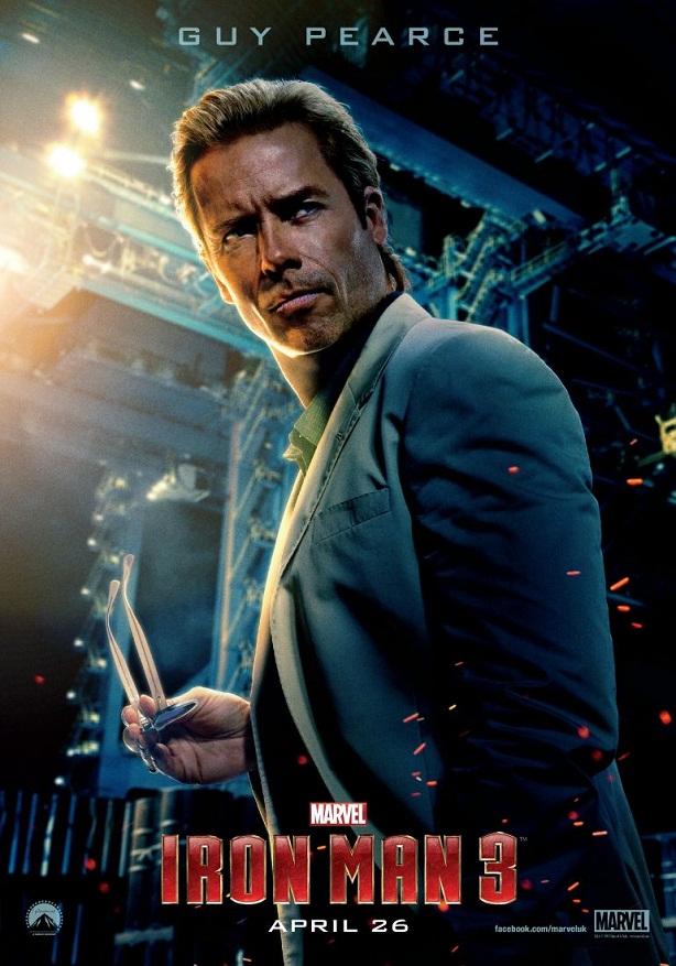 Guy Pearce-Iron Man 3-cartel