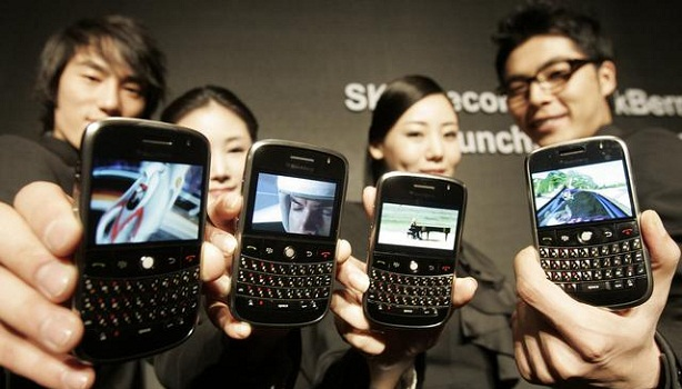 SK Telecom Blackberry