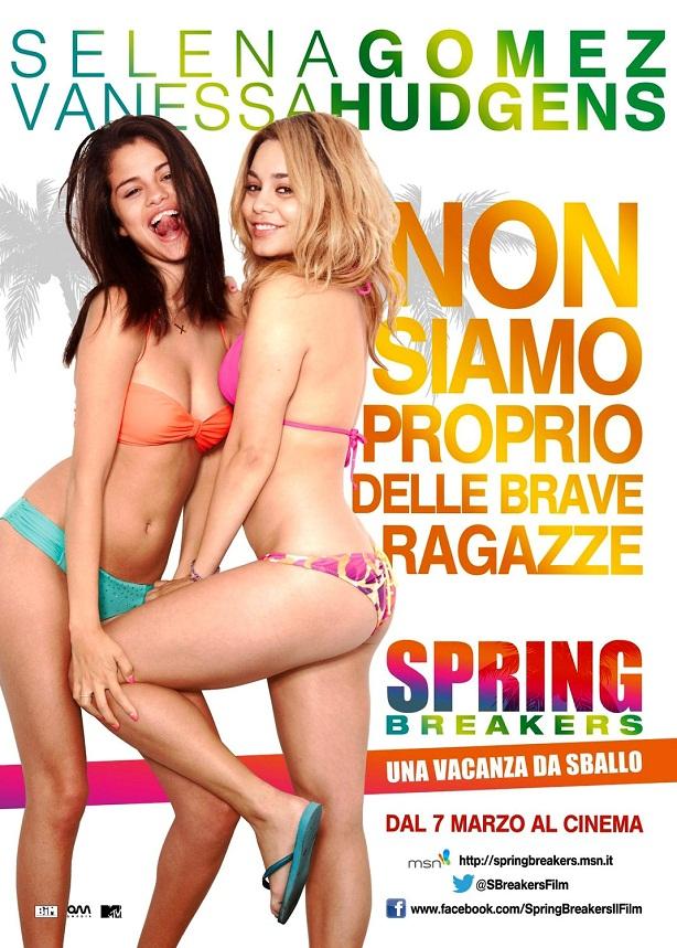 Selena Gomez-Vanessa Hudgens-Spring Breakers