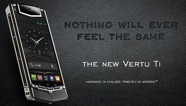 Vertu  Ti Android