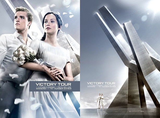 Victory Tour-Catching Fire-poster