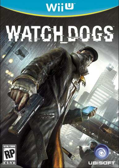 Watch Dogs box art wii u