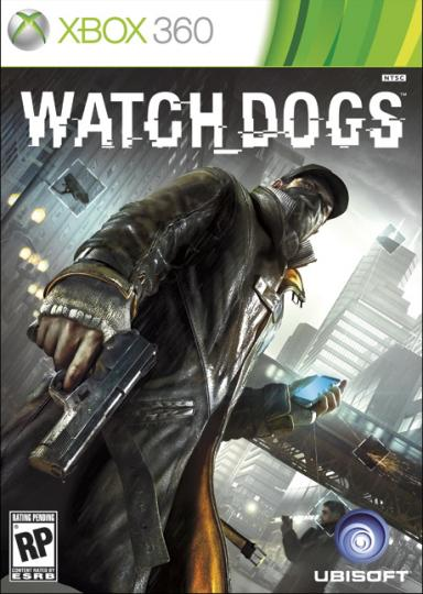 Watch Dogs box art xbox 360