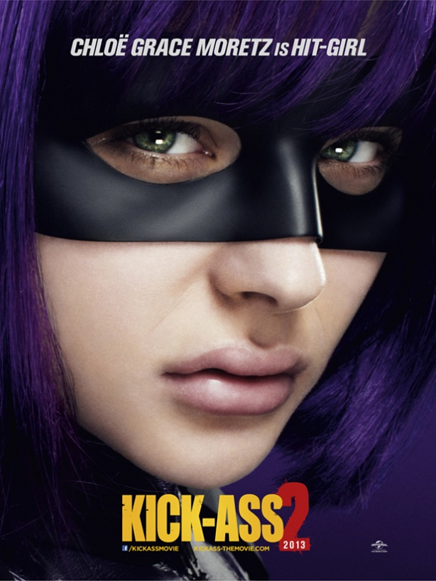 Chloe Grace Moretz-Hit-Girl-Kick-Ass 2