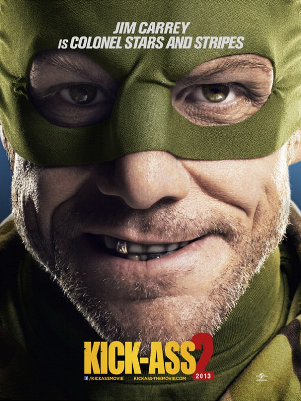 Jim Carrey-Colonel Stars-Kick-Ass 2