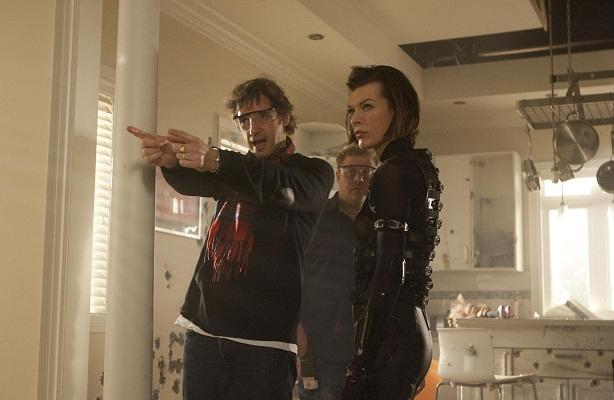 Paul WS Anderson-Milla Jovovich-Resident Evil Retribution