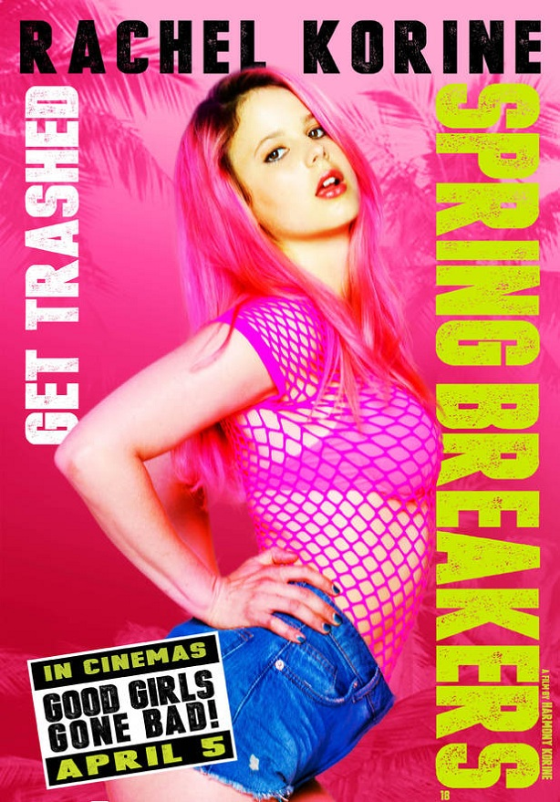 Rachel Korine-Spring Breakers-new poster