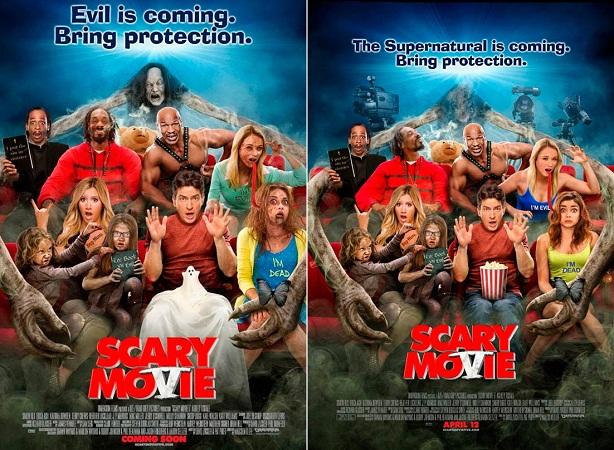 Scary Movie 5-poster censura