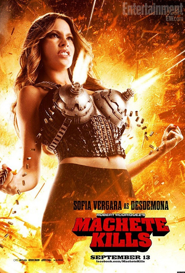 Sofía Vergara-Machete Kills-new poster