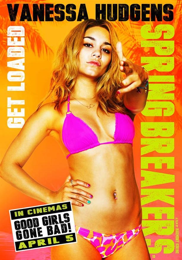 Vanessa Hudgens-Spring Breakers-new poster