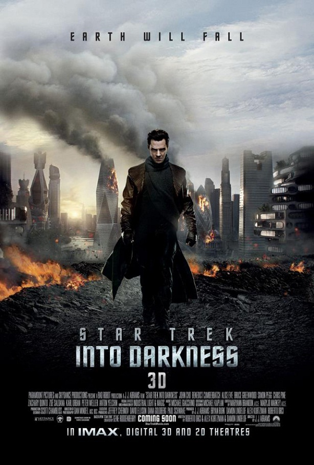 Benedict Cumberbatch-Star Trek Into Darkness-poster