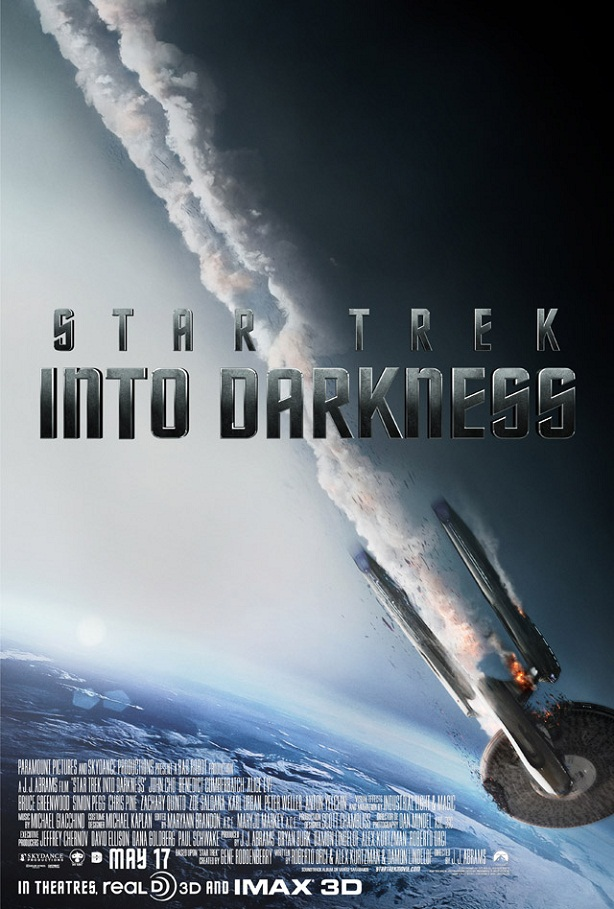 Enterprise -Star Trek Into Darkness-poster