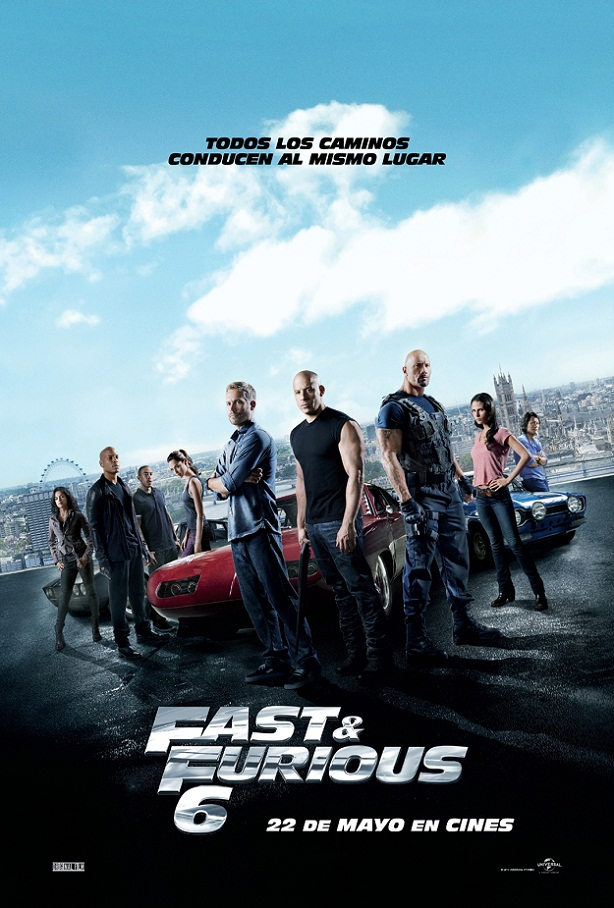 Fast and Furious 6-cartel esp