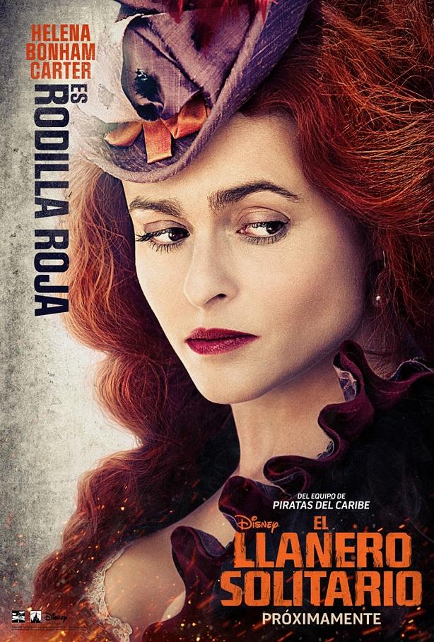Helena Bonham Carter-El Llanero Solitario-cartel