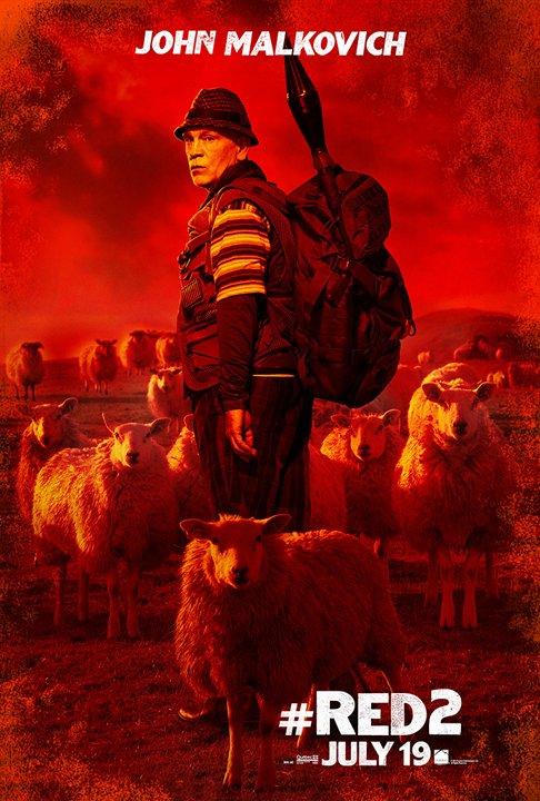 John Malkovich-Red 2-poster