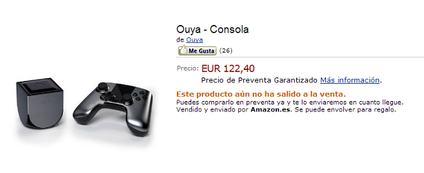 Ouya Amazon Esp