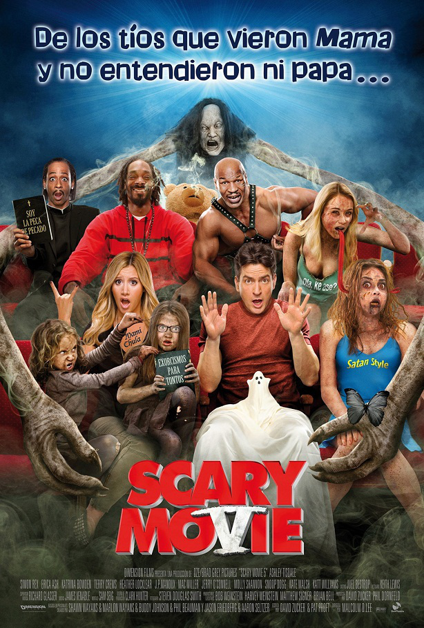 Scary Movie 5-cartel