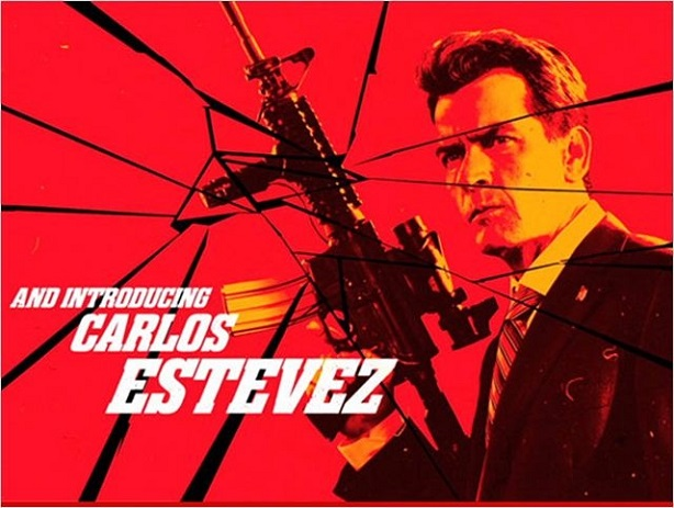 Charlie Sheen- Carlos Estevez-Machete Kills