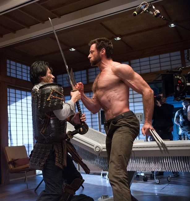 Hiroyuki Sanada-Hugh Jackman-The Wolverine