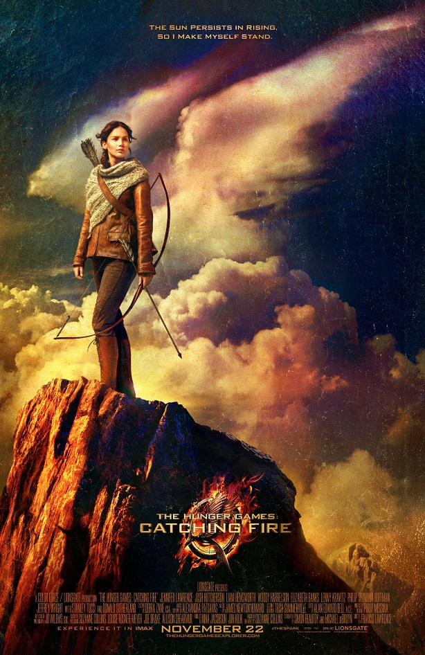 Jennifer Lawrence-Catching Fire-poster