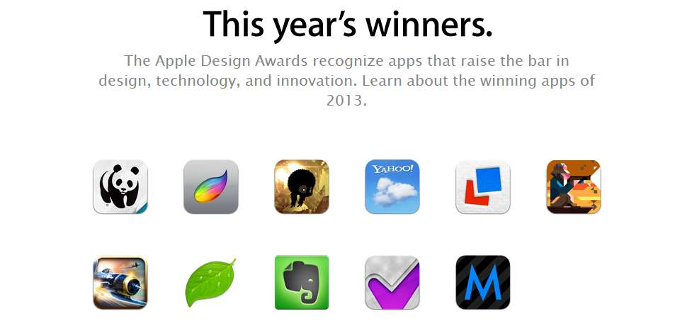 Apple Desing Awards 2013