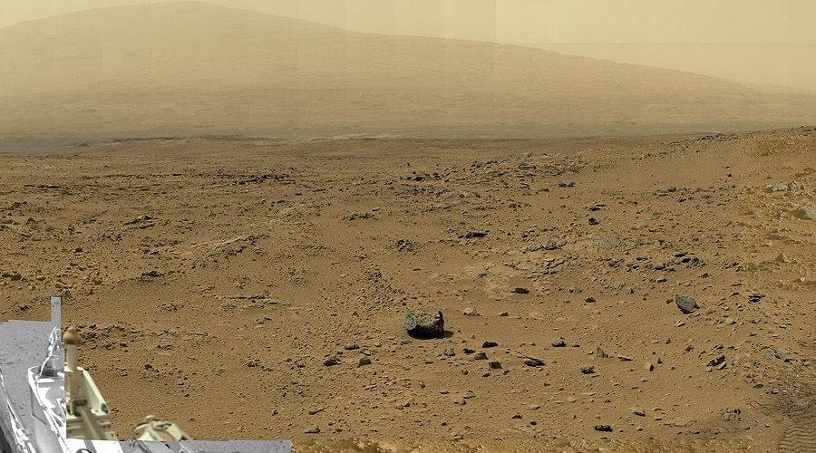 NASAs-Mars-Curiosity-Rover-gives-high-pixel-View-of-Mars