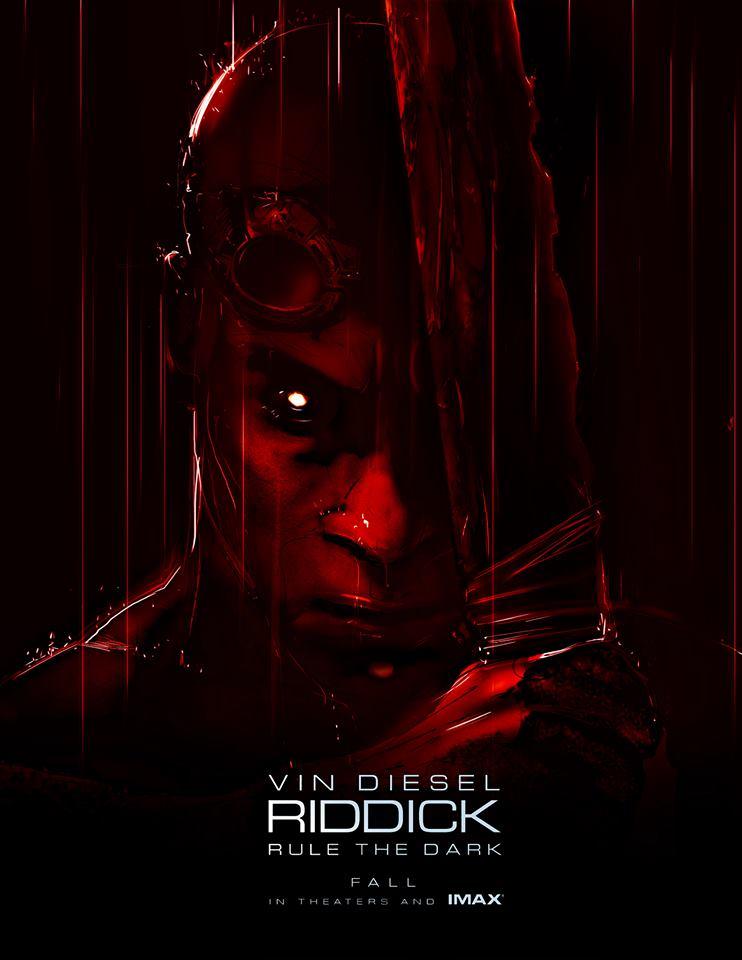 Poster Comic-Con Riddick