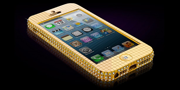 Solid Gold iPhone 5