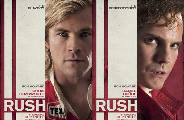 Chris Hemsworth-Daniel Bruhl-Rush-new poster