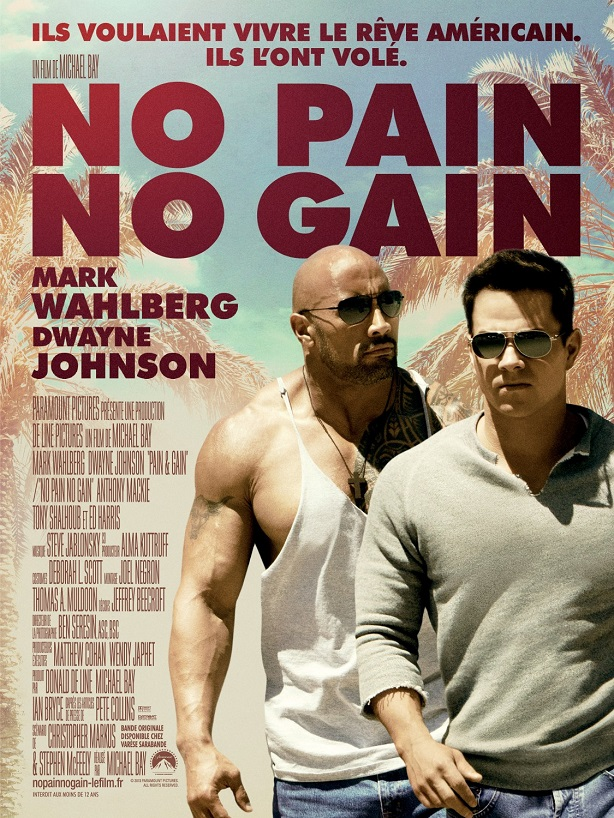 Pain and Gain-french poster
