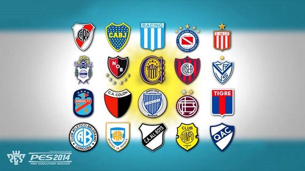 PES 2014 Liga Argentina