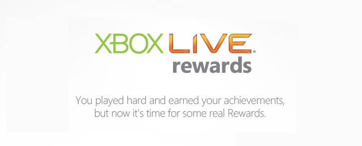 New Xbox Live Rewards