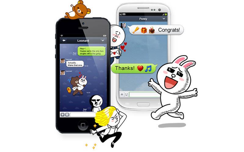 LINE-App-Stickers-iOS-Android