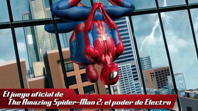 El juego The Amazing Spider-Man 2 llega a los dispositivos Android